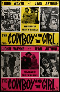 2t003 LADY TAKES A CHANCE group of 4 Iranians 1963 Arthur moves west & falls in love w/ John Wayne!