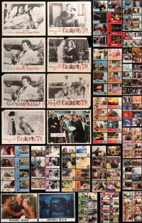 2y079 LOT OF 138 LOBBY CARDS 1960s-1980s incomplete sets from a variety of different movies!