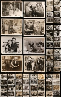 2y459 LOT OF 103 8X10 STILLS 1940s great scenes from a variety of different movies!