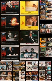 2y090 LOT OF 108 LOBBY CARDS 1970s-1980s incomplete sets from a variety of different movies!