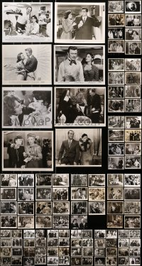 2y449 LOT OF 135 8X10 STILLS 1940s-1980s great scenes from a variety of different movies!
