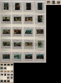 2y254 LOT OF 42 35MM SLIDES 1980s-2000s scenes from Grease, 2001 A Space Odyssey & more!