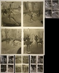 2y351 LOT OF 24 BURKE'S LAW 4X5 NEGATIVES AND POSITIVE PRINTS 1964 Who Killed Andy Zygmunt?