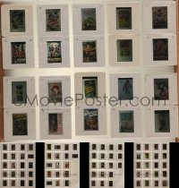 2y250 LOT OF 155 35MM SLIDES OF MOVIE POSTERS FROM AUCTIONS 1990s a variety of full-color images!