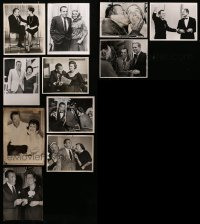 2y537 LOT OF 11 ED SULLIVAN 8X10 STILLS 1950s-1960s great images of the legendary talk show host!