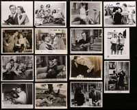 2y529 LOT OF 15 8X10 STILLS OF STARS WITH BOOKS 1930s-1980s a variety of great movie scenes!