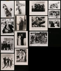 2y530 LOT OF 14 THEATRICAL AND TV RE-RELEASE 8X10 STILLS AND PHOTOS R1960s-2000s cool images!