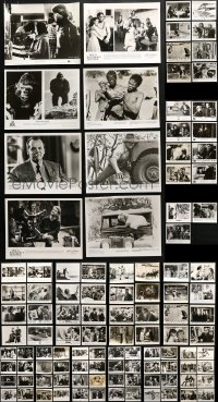 2y452 LOT OF 123 8X10 STILLS 1970s-1990s scenes & portraits from a variety of different movies!