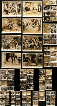 2y456 LOT OF 109 8X10 STILLS 1950s scenes & portraits from a variety of different movies!
