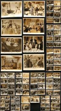 2y457 LOT OF 107 8X10 STILLS 1950s great scenes from a variety of different movies!