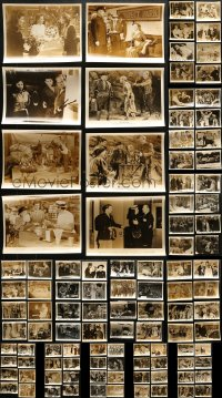 2y458 LOT OF 104 8X10 STILLS 1940s-1950s great scenes from a variety of different movies!