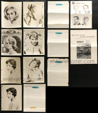 2y532 LOT OF 13 CLAIROL SHAMPOO 8X10 STILLS AND PROMO BROCHURES 1960s beautiful models!