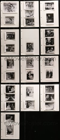 2y007 LOT OF 29 THUNDERBALL PHOTOS 1970s Sean Connery as James Bond, Claudine Auger, Paluzzi
