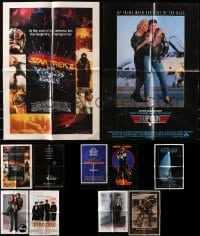 2y017 LOT OF 11 FOLDED SPECIAL POSTERS 1980s-1990s great images from a variety of movies!