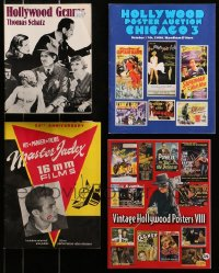 2y008 LOT OF 4 MISCELLANEOUS ITEMS 1980s-2000s Vintage Hollywood Posters, 16mm Films & more!