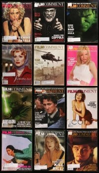 2y237 LOT OF 12 2002-03 FILM COMMENT MAGAZINES 2002-2003 great movie images & articles!
