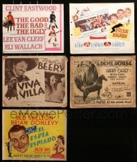 2y157 LOT OF 5 TITLE CARDS IN MUCH LESSER CONDITION 1930s-1950s from a variety of movies!