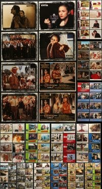 2y081 LOT OF 136 LOBBY CARDS 1960s-1990s complete & incomplete sets from a variety of movies!