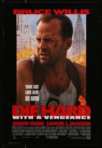 2y691 LOT OF 16 DIE HARD WITH A VENGEANCE UNFOLDED 14x20 MINI POSTERS 1995 Bruce Willis!