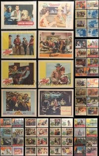 2y093 LOT OF 104 1960S BAGGED AND PRICED LOBBY CARDS 1960s incomplete sets from a variety of movies!