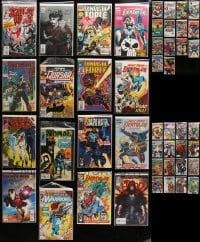2y214 LOT OF 46 MARVEL COMIC BOOKS 1980s-2000s includes several first issues!