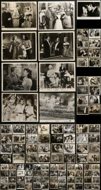 2y451 LOT OF 129 8X10 STILLS 1940s-1990s great scenes from a variety of different movies!