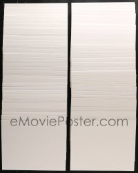 2y291 LOT OF 120 11X14 BACKING BOARDS 2010s protect your lobby cards stored in sleeves or bags!