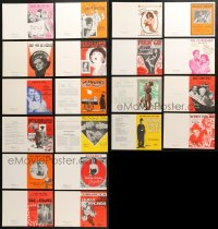 2y005 LOT OF 20 GREETING CARDS 1970s great cover images from a variety of different sheet music!