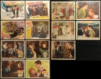 2y149 LOT OF 13 LOBBY CARDS 1930s great scenes from a variety of different movies!