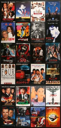 2y195 LOT OF 24 JAPANESE CHIRASHI POSTERS 1990s great images from a variety of different movies!