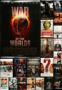 2y740 LOT OF 25 UNFOLDED DOUBLE-SIDED 27X40 ONE-SHEETS 1990s-2010s a variety of movie images!