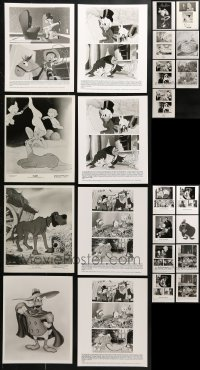 2y515 LOT OF 23 WALT DISNEY TV AND VIDEO CARTOON 8X10 STILLS 1990s great animation images!