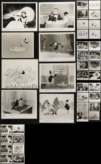 2y499 LOT OF 40 THEATRICAL AND TV CARTOON 8X10 STILLS 1980s-1990s great animation images!
