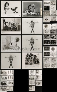 2y494 LOT OF 47 TV AND VIDEO CARTOON 8X10 STILLS 1980s-1990s great animation images!