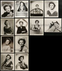 2y533 LOT OF 12 MYRNA LOY 8X10 STILLS 1940s-1950s great portraits of the beautiful leading lady!