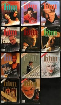 2y241 LOT OF 11 1992-93 FILM COMMENT MAGAZINES 1992-1993 great movie images & articles!