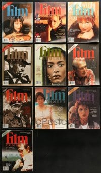 2y242 LOT OF 10 1994-95 FILM COMMENT MAGAZINES 1994-1995 great movie images & articles!