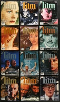 2y238 LOT OF 12 1996-97 FILM COMMENT MAGAZINES 1996-1997 great movie images & articles!