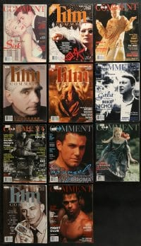 2y240 LOT OF 11 1998-99 FILM COMMENT MAGAZINES 1998-1999 great movie images & articles!
