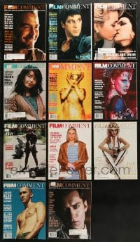 2y239 LOT OF 11 2000-01 FILM COMMENT MAGAZINES 2000-2001 great movie images & articles!