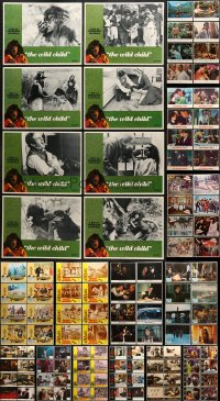 2y085 LOT OF 120 LOBBY CARDS 1960s-1980s complete sets from a variety of movies!