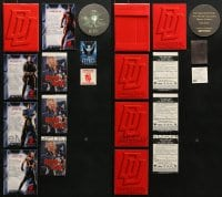 2y362 LOT OF 11 PROMO ITEMS 1990s Daredevil, Barb Wire, Batman, Mimic!