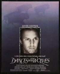 2y686 LOT OF 42 DANCES WITH WOLVES UNFOLDED 16X20 MINI POSTERS 1990 Kevin Kostner