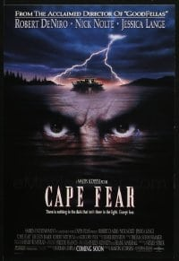 2y688 LOT OF 251 CAPE FEAR UNFOLDED 11X17 MINI POSTERS 1991 Martin Scorsese, Robert De Niro