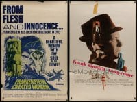2y329 LOT OF 5 40X60S 1960s-1970s great images from a variety of different movies!