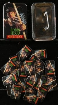2y413 LOT OF 23 ROBIN HOOD: MEN IN TIGHTS PIN-BACK BUTTONS 1993 Mel Brooks, Cary Elwes!