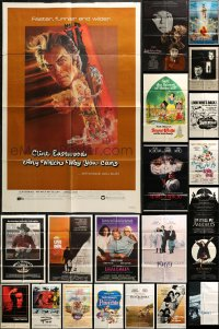 2y044 LOT OF 59 FOLDED ONE-SHEETS 1980s-1990s great images from a variety of different movies!