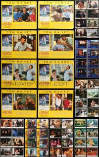2y092 LOT OF 104 LOBBY CARDS 1960s-1990s complete sets from a variety of different movies!