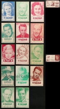 2y367 LOT OF 15 LOCAL THEATER HERALDS 1940s great images from a variety of different movies!