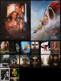 2y610 LOT OF 16 FORMERLY FOLDED FRENCH 15x21 POSTERS 1980s-2000s a variety of movie images!
